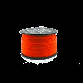 123Paracord Nano cord Neon Oranje 90mtr