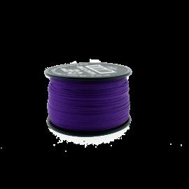 123Paracord Nano cord Deep paars 90mtr