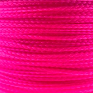 123Paracord Nano cord Ultra Neon Roze 90mtr