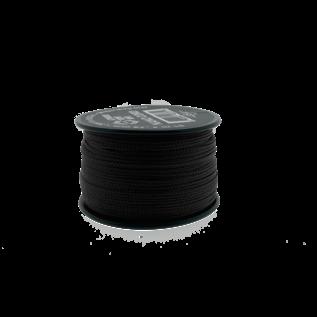 123Paracord Nano cord Zwart 90mtr