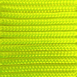 123Paracord Paracord 275 2MM Ultra Neon Geel