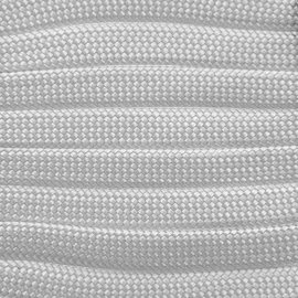 123Paracord Paracord 550 type III Wit plat/zonder kern