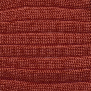 123Paracord Paracord 550 type III Rood Chili plat/zonder kern