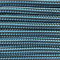 123Paracord Paracord 550 type III Donker Cyan/ Hazelnut bruin Stripes