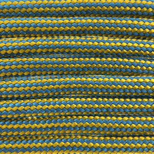 123Paracord Paracord 550 type III king tut (gr / ca Stripes)