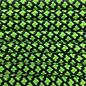 123Paracord Paracord 550 type III Neon Groen Diamond