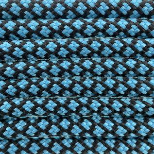 123Paracord Paracord 550 type III Neon Turquoise Diamond