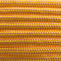 123Paracord Paracord 550 type III Rose Roze / Canary yellow Stripes