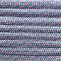 123Paracord Paracord 550 type III Rose Roze / Turquoise Diamond