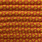 123Paracord Paracord 550 type III solar Oranje / Goldenrod Diamond