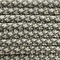123Paracord Paracord 550 type III Steel Grijs / Papayawhip Diamond