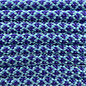 123Paracord Paracord 550 type III Turquoise / Acid Paars Diamond