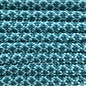 123Paracord Paracord 550 type III Turquoise / Teal Diamond