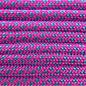 123Paracord Paracord 550 type III Ultra Neon Roze / Baby Blauw Diamond