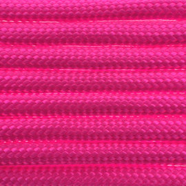 123Paracord Paracord 550 type III Ultra Neon Roze
