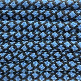 123Paracord Paracord 550 type III Dark Baby Blue Diamond