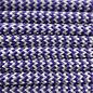 123Paracord Paracord 550 type III Deep paars & Zilver Grijs Shockwave