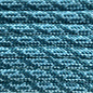 123Paracord Paracord 550 type III Teal & Ultra Neon Turquoise Helix