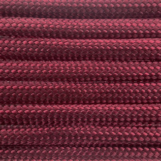 123Paracord Paracord 550 type III Burgundy
