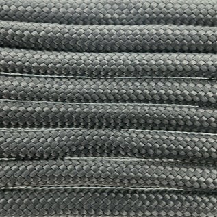 123Paracord Paracord 550 type III Charcoal Grijs