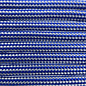 123Paracord Paracord 550 type III Electric Blauw / Zilver Grijs Stripes