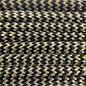 123Paracord Paracord 550 type III Goud & Zwart Shockwave