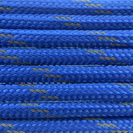 123Paracord Paracord 550 type III Royal Blauw Reflective