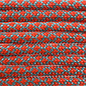 123Paracord Paracord 550 type III Turquoise / Neon Oranje Diamond