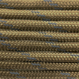 123Paracord Paracord 550 type III Goud Bruin Reflective