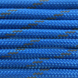 123Paracord Paracord 550 type III Greece Blauw Reflective