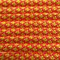 123Paracord Paracord 550 type III Neon Oranje / Neon Geel Diamond