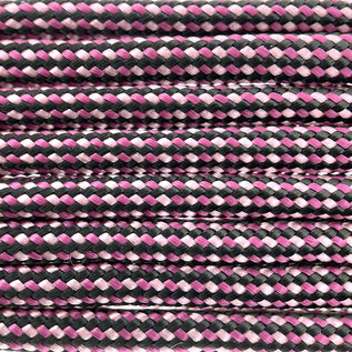123Paracord Paracord 550 type III Bleeding Heart Color FX