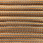 123Paracord Paracord 550 type III Oranje / Grijs Stripes