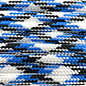 123Paracord Paracord 550 type III Blauw/wit
