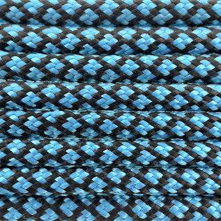 123Paracord Paracord 550 type III Donker Cyan Diamond