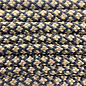 123Paracord Paracord 550 type III Goud Brown Diamond