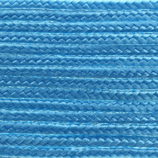 123Paracord Microcord 1.4MM Donker Cyan