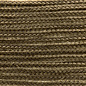 123Paracord Microcord 1.4MM Goud Bruin