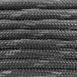 123Paracord Paracord 550 type III Antraciet Reflective