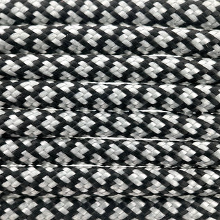 123Paracord Paracord 550 type III Zilver Grijs Diamond