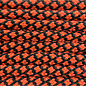 123Paracord Paracord 550 type III Oranje Neon Diamond