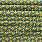 123Paracord Paracord 550 type III caribean Blauw / Goldenrod Diamond
