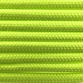 123Paracord Paracord 550 type III Fluor Groen (PES)