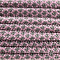 123Paracord Paracord 550 type III lavender Roze / Charcoal Diamond