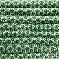 123Paracord Paracord 550 type III Mint / Charcoal Diamond