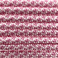 123Paracord Paracord 550 type III Wit / lavender Roze Diamond