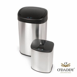 O'DADDY Automatic Infrared Trash Oval Duo Set