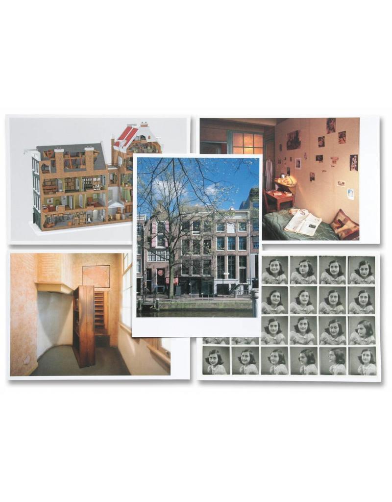 Tarjetas postales Casa de Ana Frank