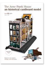 Modelo para armar de la casa de Ana Frank (7 idiomas))