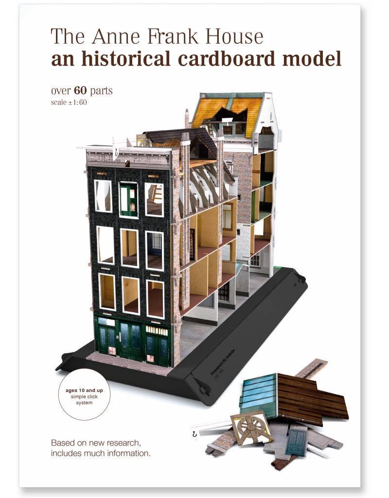 Modellbaubogen des Anne Frank Hauses (7 Sprachen))